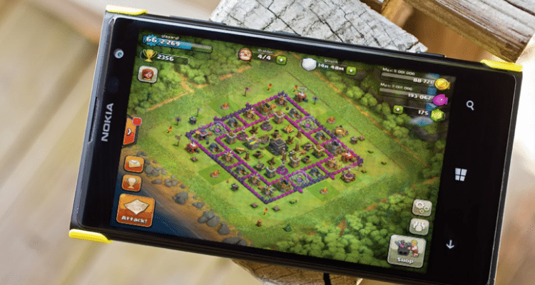Download Clash of Clans For Windows Mobile Phone Free