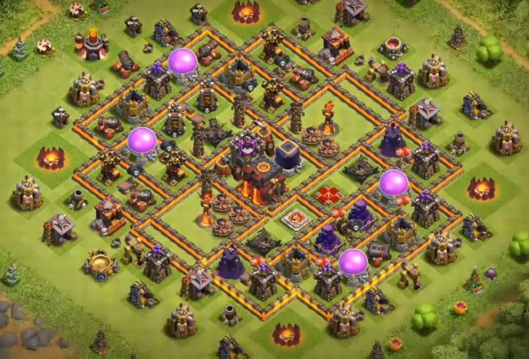 Clash of Clans TH10 War Base & Farming Base Layouts 2018 [Updated]
